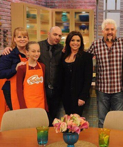 Monica Mooney, Jasmine, Chris Santos, Rachael Ray, Guy Fieri
