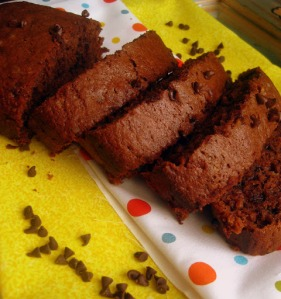 Choco Chip Nutella Banana Bread - sweetheatchefs.com