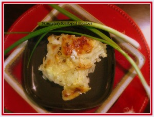 Skinny(er) Scalloped Potatoes - sweetheatchefs.com