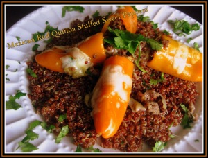 Mexican Red Quinoa Stuffed Sweet Peppers5 - sweetheatchefs.com