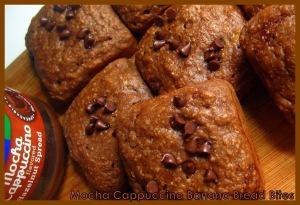 mocha cappuccino banana bread bites - sweetheatchefs.com