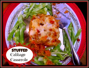 Stuffed Cabbage Casserole - sweetheatchefs.com